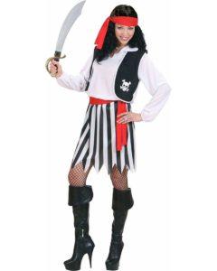 Pretty Lady Pirate Costume Women's Fancy Dress