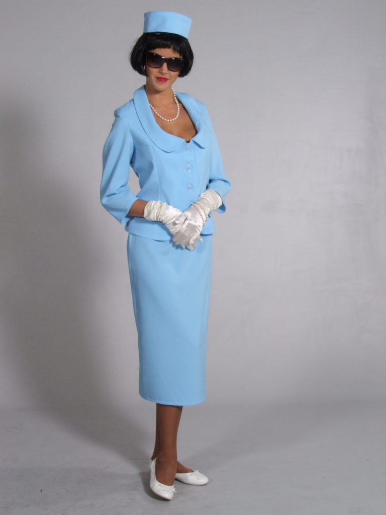 1960s Suit First Lady Jackie Onassis Costume 12-14