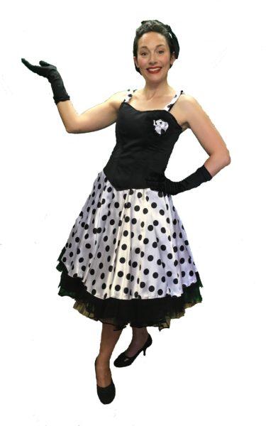 ladies 50s fancy dress
