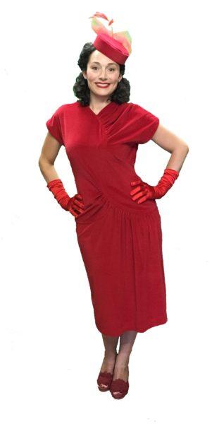 1940s Style Dress