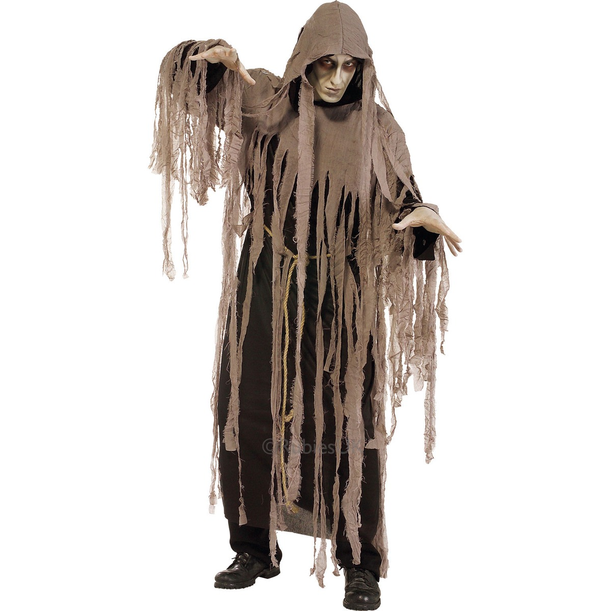 Adult Zombie Halloween Costume Nightmare Fancy Dress