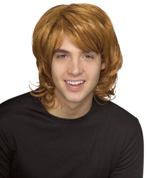 Adults 70s Shag Wig Fancy Dress Blonde Hippy Style
