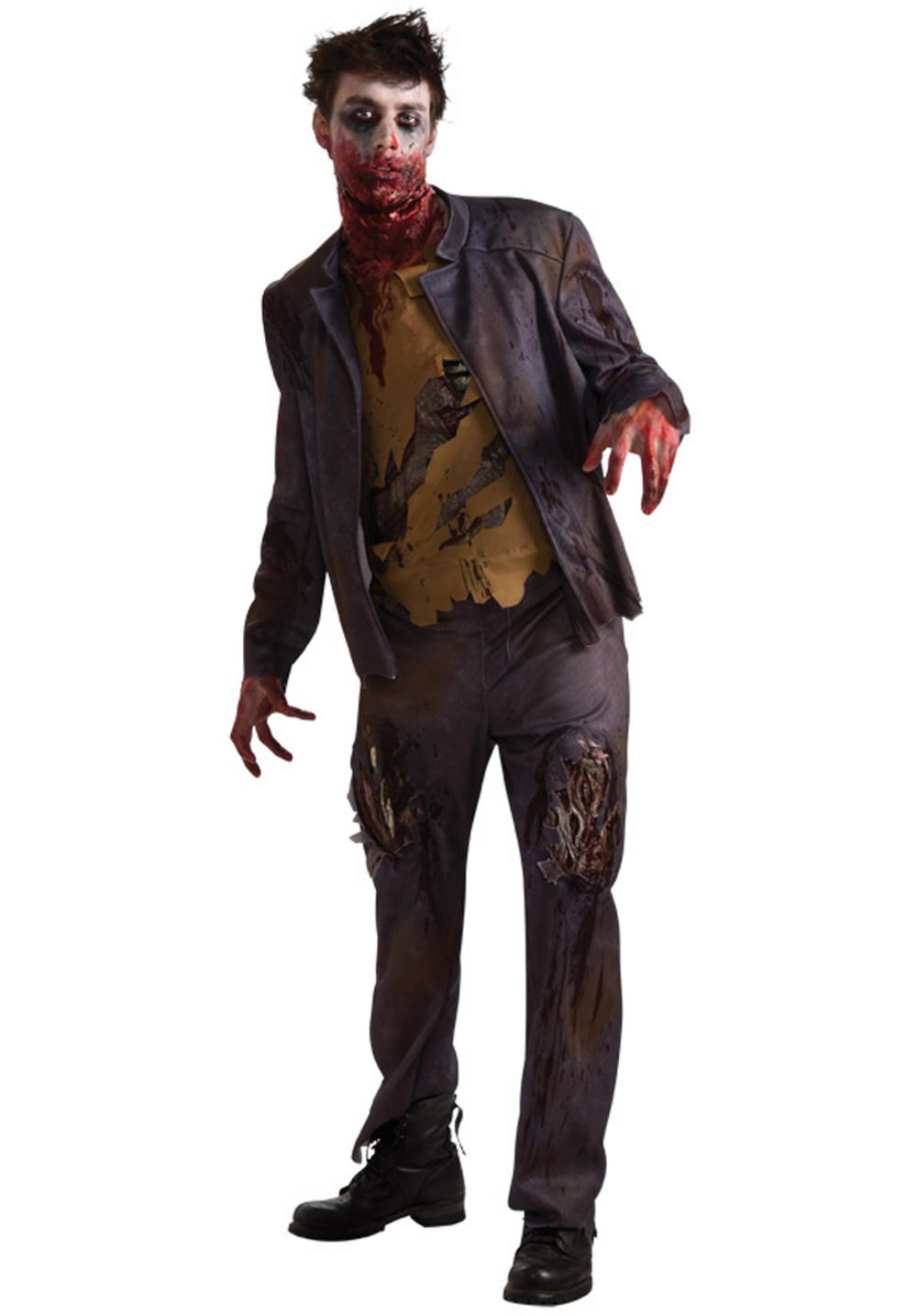 Zombie costume Shawn the Undead Fancy Dress