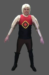 Adult Flash Gordon Costume Flash Gordon Fancy Dress