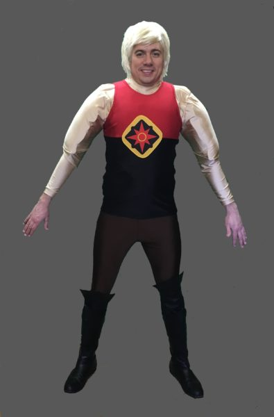 Adult Flash Gordon Costume Flash Gordon Fancy Dress