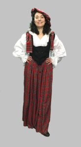 Ladies Traditional Scottish Costume, Highland Outfit