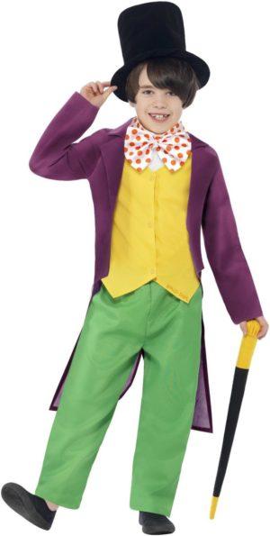 Willy Wonka Kids Costume, Roald Dahl costumes for Kids