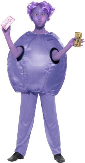 Violet Beauregarde Costume Deluxe, Roald Dahl Girls Fancy Dress