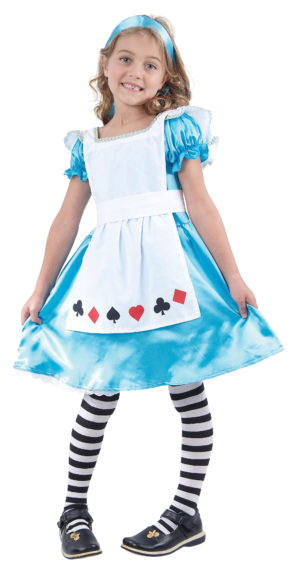 Girls Alice in Wonderland Fancy Dress, Kids World Book Day