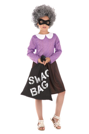 Girls Gangster Granny Costume, World Book Day Costumes