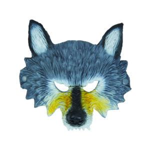 Wolf Mask, Werewolf Mask, Realistic Half Face Wolf Mask