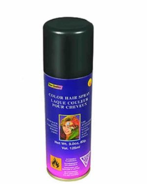 Black Hairspray, Temporary Hair Colour Black, Hair Dye Spray