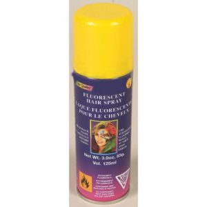 Yellow Hairspray, Temporary Hair Colour Yellow, Hair Dye Spray