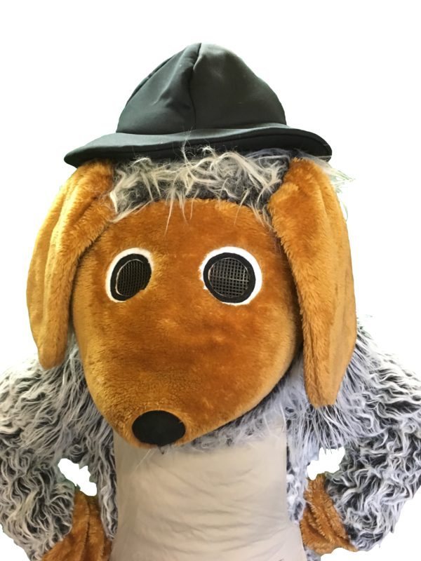 in the style of womble costumes