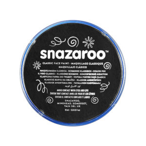 Black Face Paint, Snazaroo Make Up, Body Paint 18ml