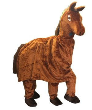 Pantomime Horse Costume, 2 person Horse Fancy Dress