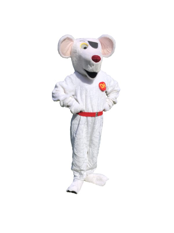 Dangerous Mouse Costume, Cartoon Character Fancy Dress