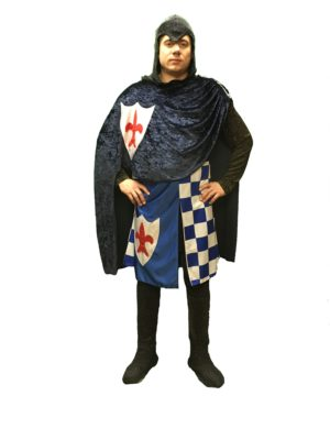 Knight Fancy Dress Sir Percival, Adult Crusaders Costume