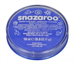 Blue Face Paint, Snazaroo Make Up, Body Paint 18ml