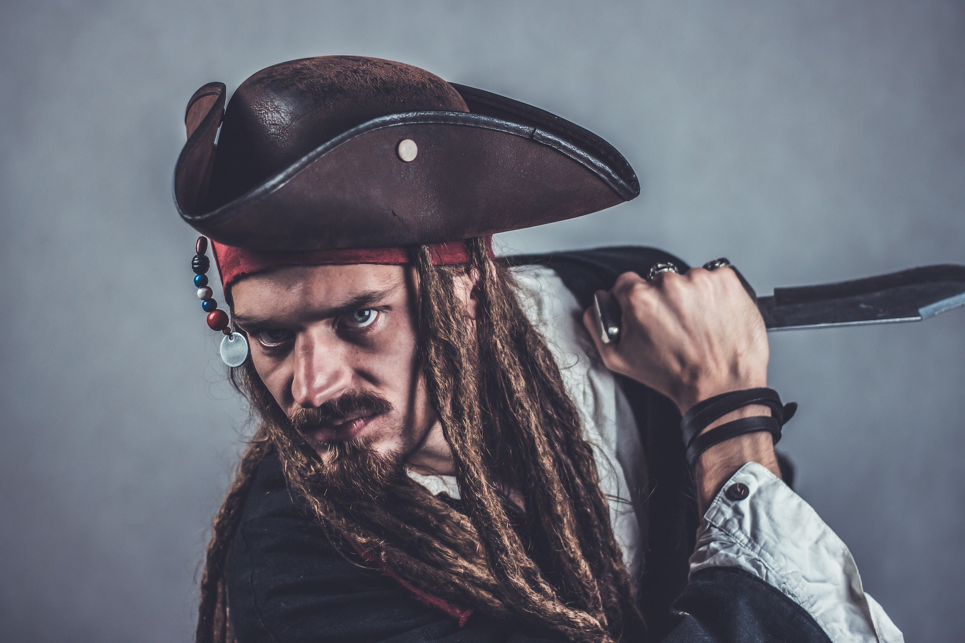 Pirate Costumes to Hire, pirate fancy dress