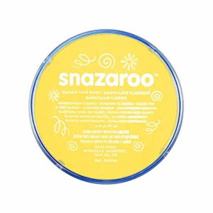 Yellow Face Paint, Snazaroo Make Up, Body Paint 18ml