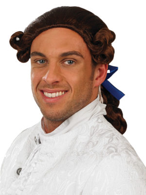 Prince Charming Wig, Male Georgian Wig, Fairy Tale Fancy Dress