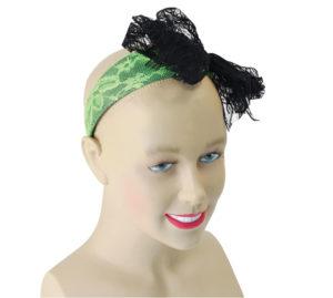 80s Neon Green Headband