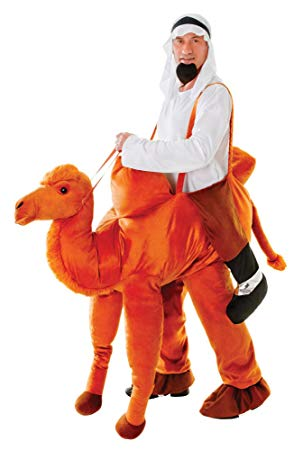 All in One Step in Camel Suit