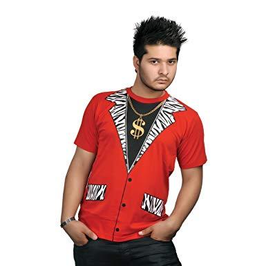 Pimp T-Shirt, Wicked Fun Printed Gangsta Top, Rapper