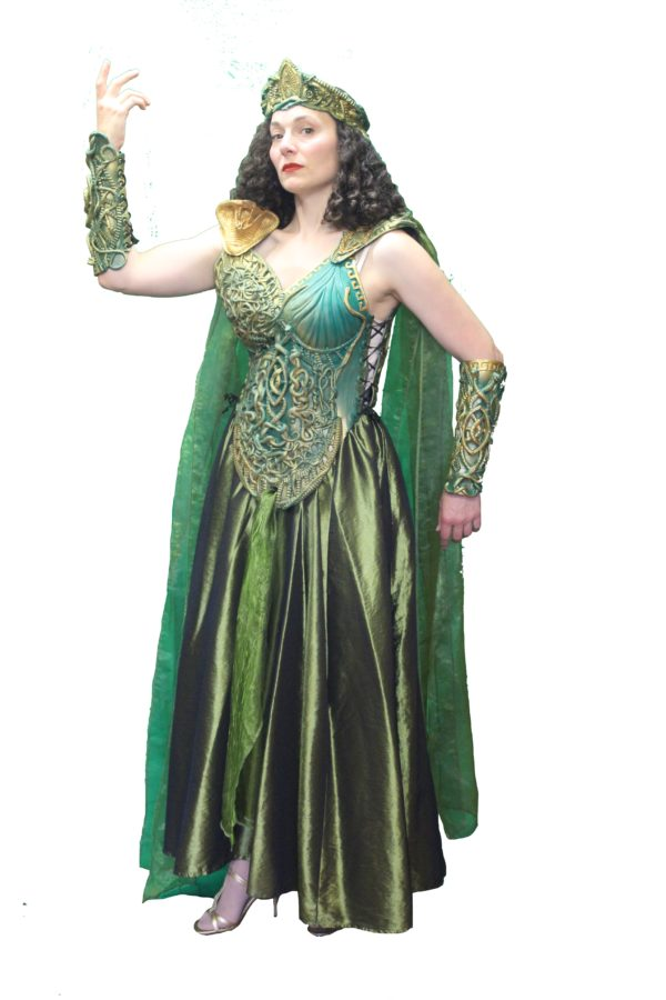 Medusa Costume, Greek Mythology Costume, Mythical Fancy Dress