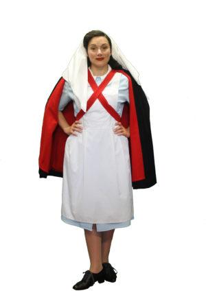 WW2 Nurses Uniform Costume, 1940s Outfits Ladies
