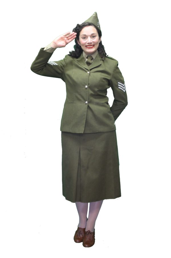 WAC Uniform, WW2 Womens Uniform, Ladies Army Outfit