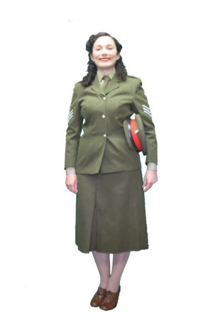 ATS Uniform, WW2 Womens Uniform, Ladies Army Outfit