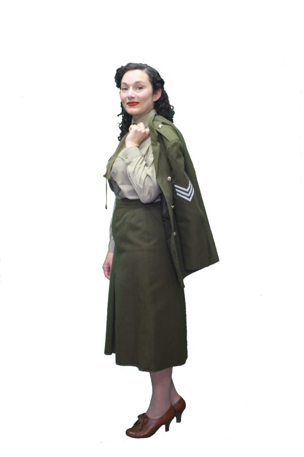 WW2 womens army uniform