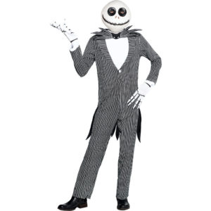 Jack Skellington Costume Adult Nightmare Before Christmas Fancy Dress