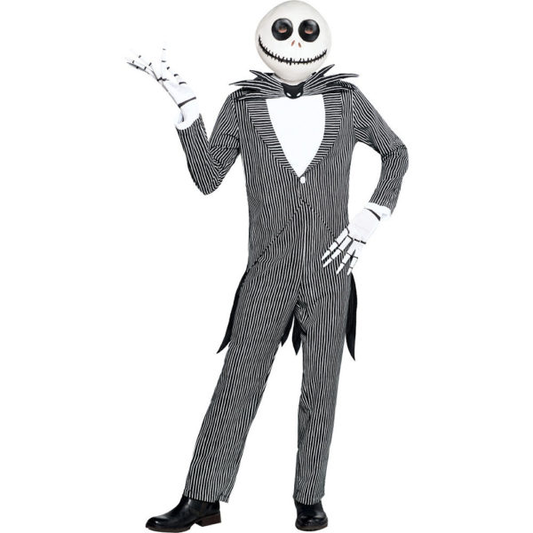 Jack Skellington Costume Adult Nightmare Before Christmas Fancy Dress