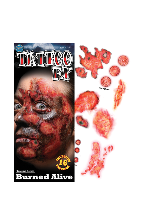 Burned Alive Tattoo