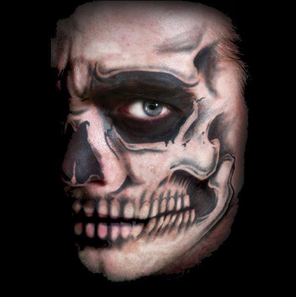 Skull Tattoo Makeup