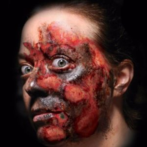 Burn Makeup, Burned Alive Tattoo, Temporary Trauma Makeup