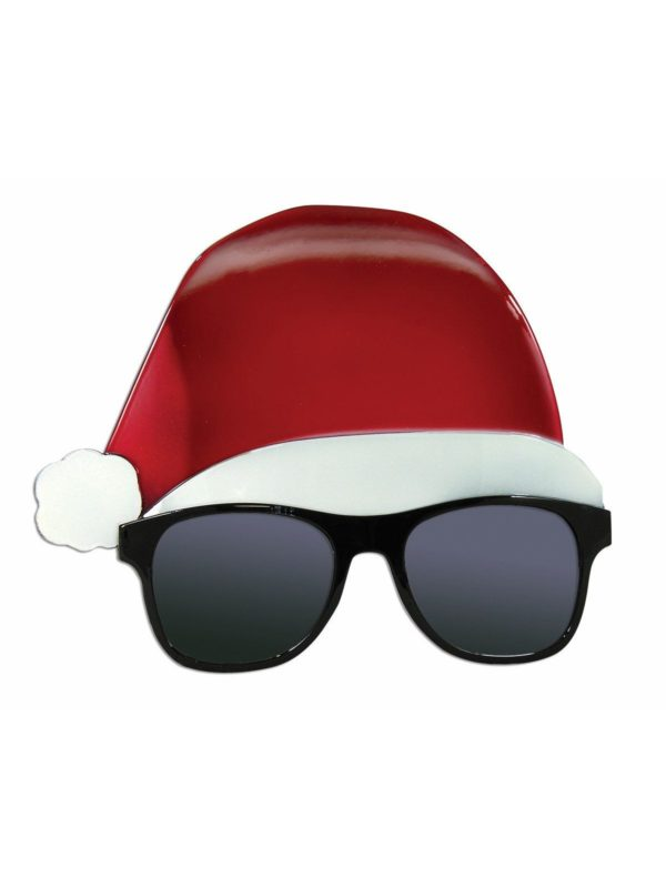 Novelty Christmas Glasses, Santa Hat Sunglasses