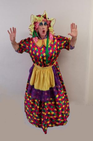 Widow Twankey Costume, Pantomime Dame Fancy Dress