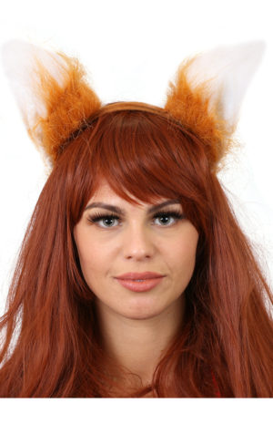 Fox Ears Fancy Dress Animal Fancy Dress Accessories Fox Costume