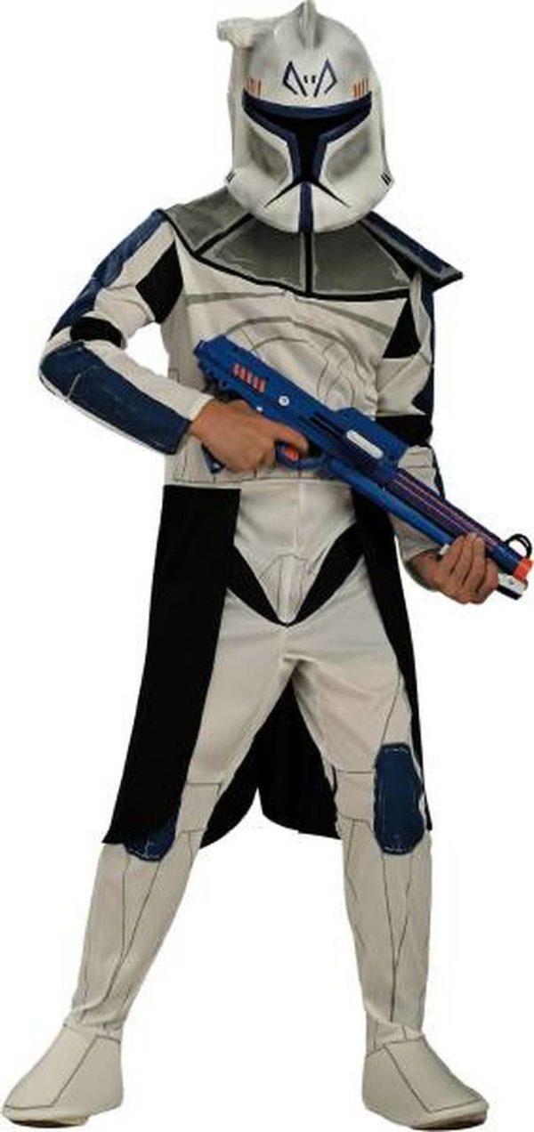 Kids Clone Trooper Costume Blue Clonetrooper Leader Rex Costume