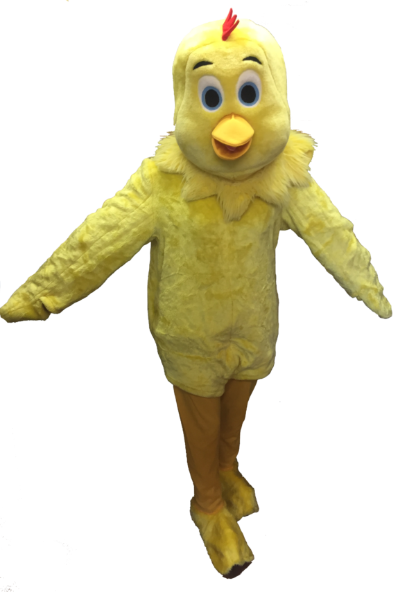 Chick Costume Easter Fancy Dress Adult Chicken Outfit