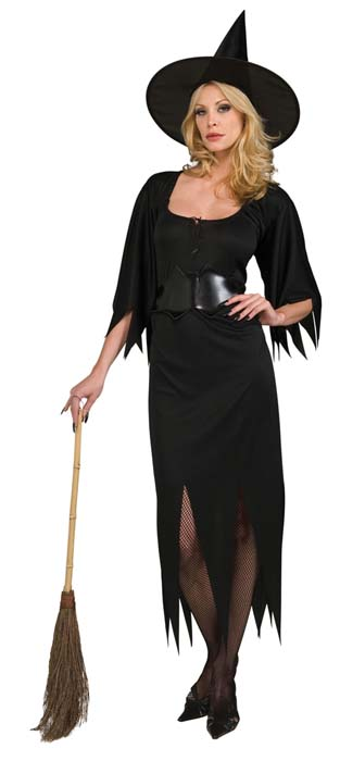 Adult Witch Fancy Dress- Ladies Halloween Costume