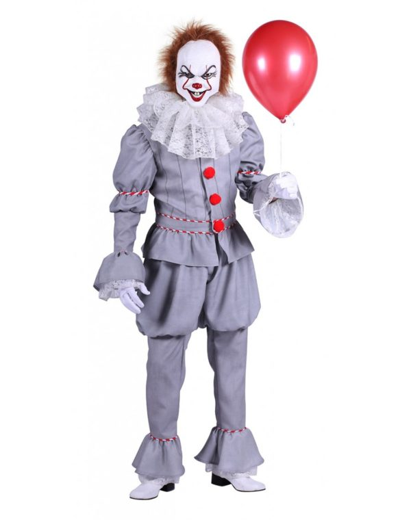 Pennywise Costume - Halloween Fancy Dress - Horror Clown Outfit