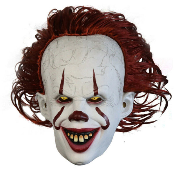 pennywise clown mask costume