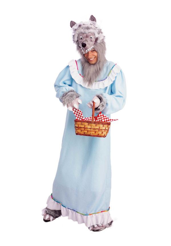 Grandma Wolf Costume Adults Big Bad Wolf Fancy Dress